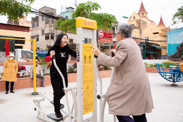 Khánh thành sân thể thao cộng đồng kiểu mẫu tại tỉnh Quảng Bình - Ảnh 1.