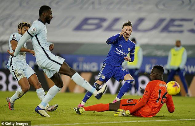 Vòng 18 Ngoại hạng Anh: Thắng Chelsea, Leicester giành ngôi đầu bảng - Ảnh 2.
