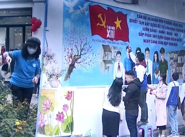 Người dân Thủ đô Hà Nội cùng hướng về Đại hội Đảng lần thứ XIII - Ảnh 5.