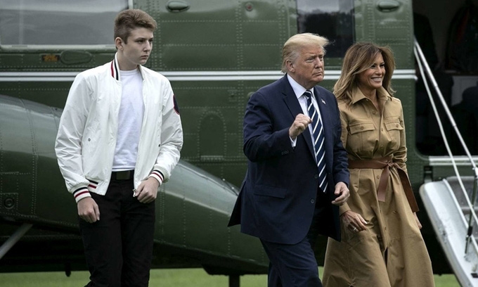 Ông Donald Trump và gia đình dự kiến sẽ tới ở khu biệt thự nghỉ dưỡng ven biển - Ảnh 1.