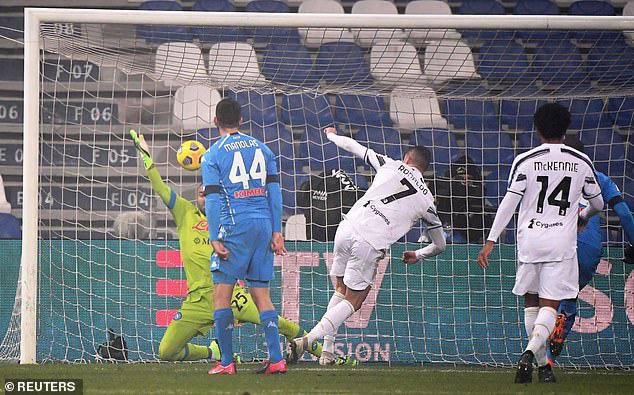 Juventus 2-0 Napoli: Ronaldo lập công, Juventus vô địch Siêu cúp Italia - Ảnh 3.