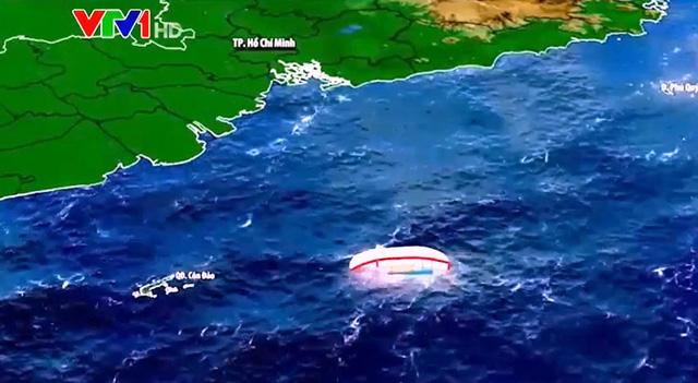 Tìm thêm được 1 thi thể vụ tàu cá bị chìm trên biển Côn Đảo - Ảnh 1.