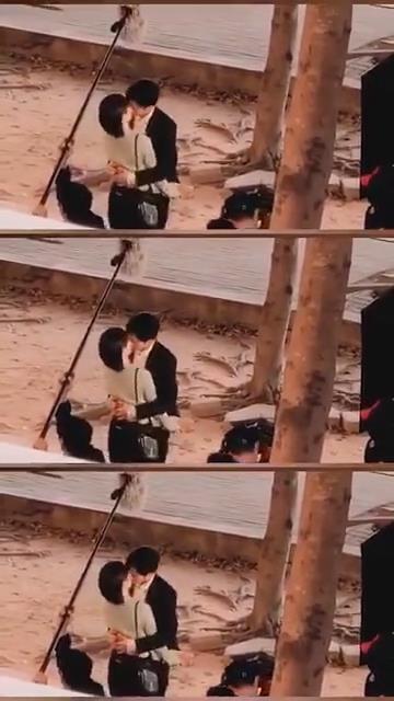 Hậu trường cảnh hôn ngọt ngào của Dương Tử và Tỉnh Bách Nhiên - Ảnh 1.