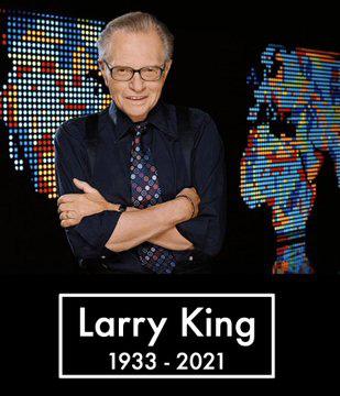 Huyền thoại Larry King qua đời vì Covid-19, sao thế giới đau buồn - Ảnh 2.