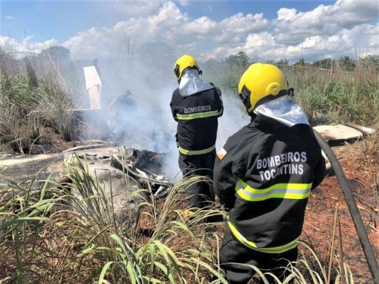Rơi máy bay chở thành viên câu lạc bộ bóng đá Palmas của Brazil, 6 người thiệt mạng - ảnh 1