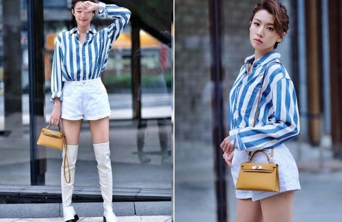 Thị hậu TVB 2020 Thái Tư Bối phủ nhận hẹn hò với đàn ông có vợ - Ảnh 1.