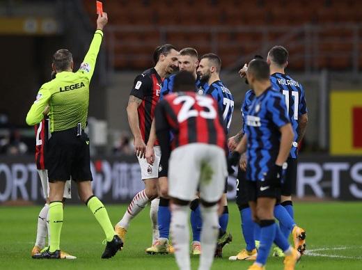 Inter Milan 2-1 AC Milan: Chiếc thẻ đỏ tai hại của Ibrahimovic - Ảnh 2.