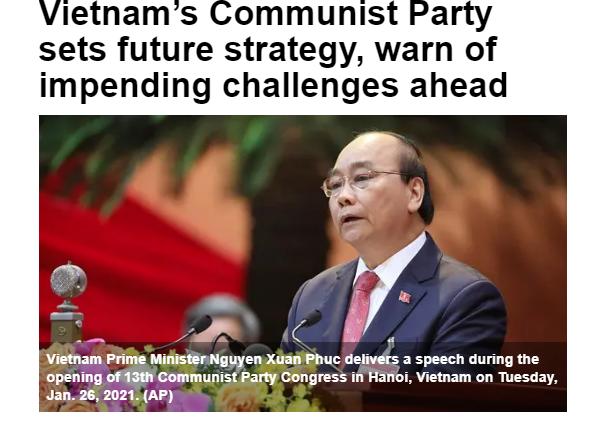 Truyền thông nước ngoài khẳng định những thành tựu của Việt Nam tại Đại hội XIII của Đảng - Ảnh 2.