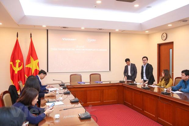 VietnamPlus-Insider hợp tác thúc đẩy chuyển đổi số trong báo chí - Ảnh 1.