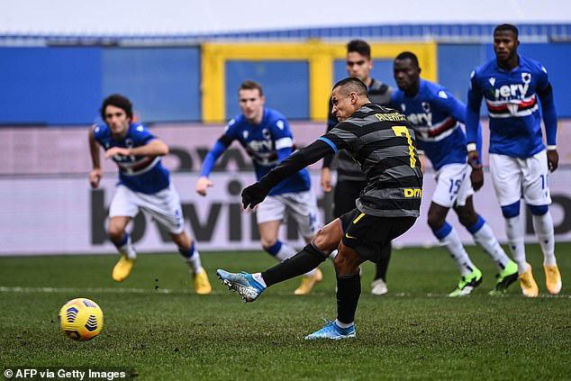 Thảm họa Sanchez, Inter Milan đứt mạch bất bại - Ảnh 1.