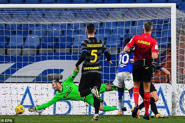 Thảm họa Sanchez, Inter Milan đứt mạch bất bại - Ảnh 3.