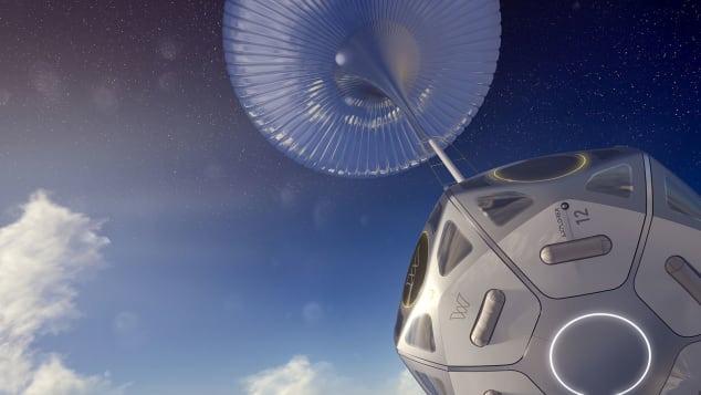 """Khám phá chuyến """"du hành vũ trụ"""" bằng khinh khí cầu trị giá 50.000 USD - ảnh 1"""