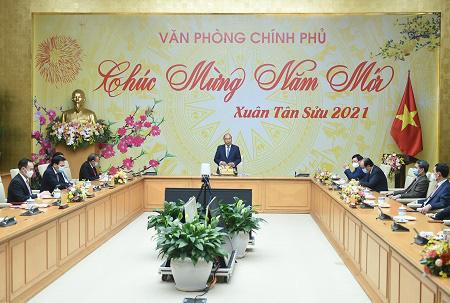 Thủ tướng Nguyễn Xuân Phúc: Tập trung xử lý công việc ngay từ ngày làm việc đầu tiên - Ảnh 1.