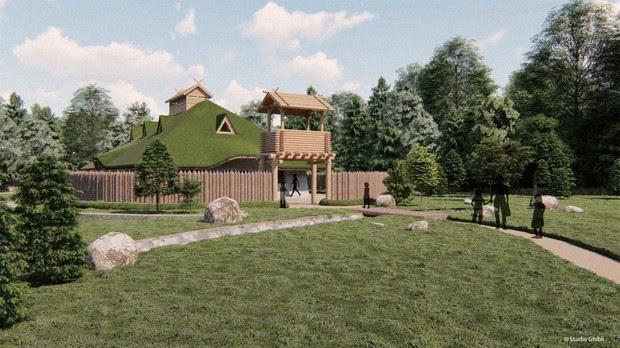 """Công viên Ghibli công bố sẽ xây dựng lâu đài """"Howl's Moving Castle"""" - ảnh 3"""