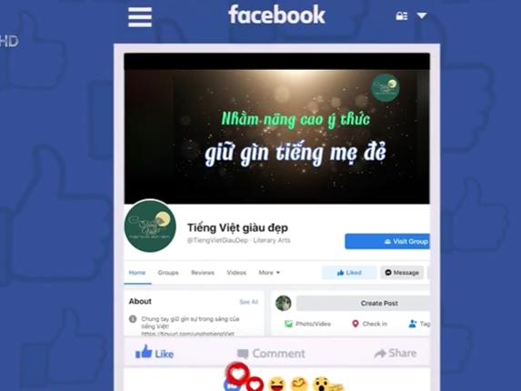 Sáng kiến tổ chức Ngày Tôn vinh tiếng Việt - Ảnh 1.