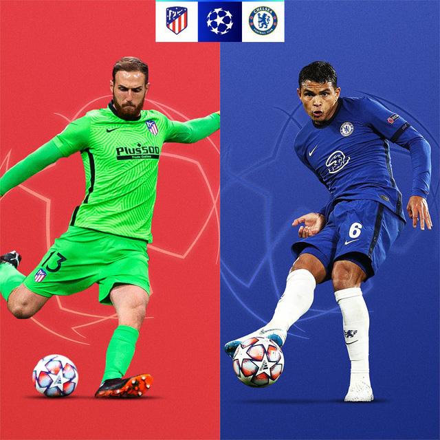 Lịch thi đấu UEFA Champions League đêm nay: Atletico Madrid - Chelsea, Lazio - Bayern Munich - Ảnh 1.
