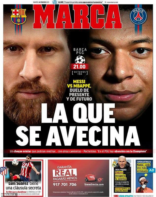 Giờ vàng thể thao tuần này: Messi đối mặt Mbappe và những câu chuyện Olympic thời đại dịch (20h30 hôm nay, 26/2 trên VTV1) - Ảnh 1.