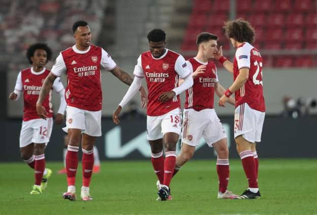 Xác định 16 đội bóng góp mặt tại vòng 1/8 Europa League 2020/21 - Ảnh 1.