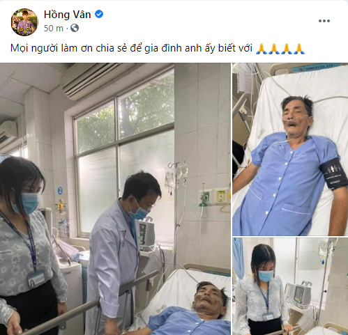 Diễn viên Thương Tín bị đột quỵ, chưa liên hệ được với người thân - Ảnh 1.