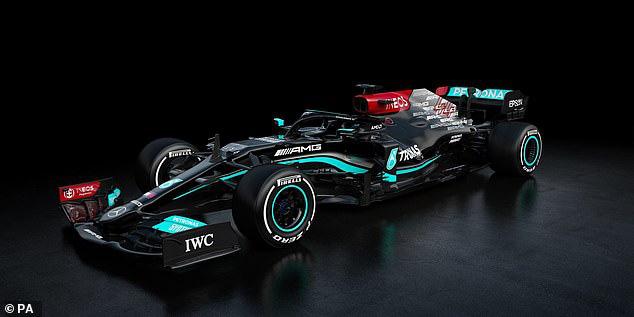 Mercedes ra mắt xe cho mùa giải 2021 - Ảnh 1.