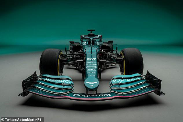Aston Martin ra mắt xe cho mùa giải 2021 - Ảnh 1.