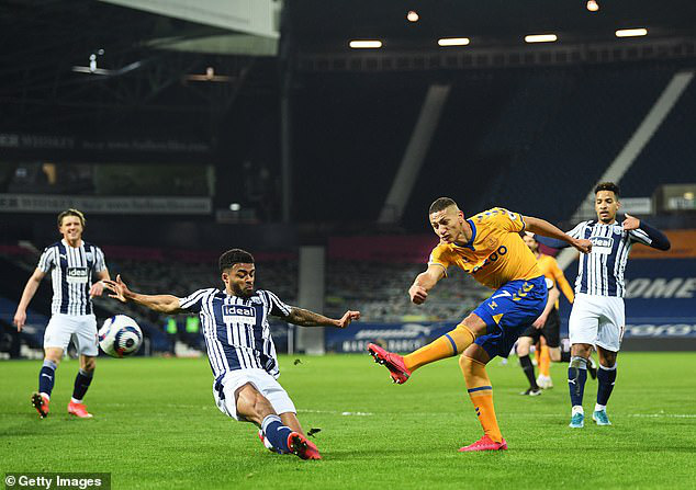 West Brom 0-1 Everton: Richarlison lập công, Everton thắng trận thứ 3 liên tiếp - Ảnh 1.