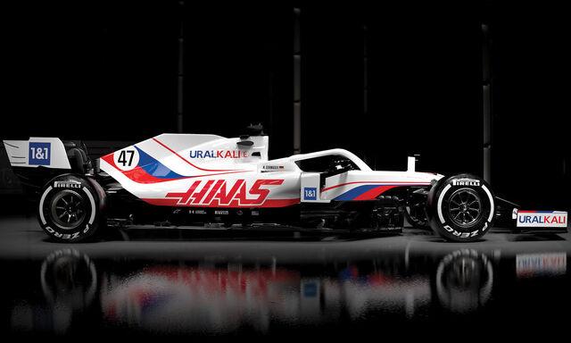 Đội đua Haas ra mắt xe cho mùa giải mới - Ảnh 2.