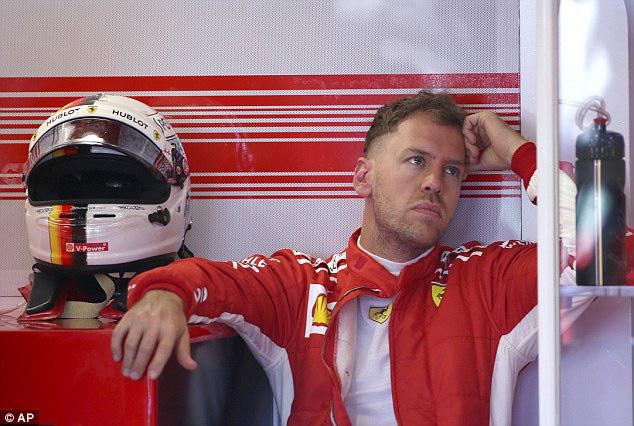 Sebastian Vettel không đặt nặng mục tiêu phải vượt qua Ferrari - Ảnh 1.