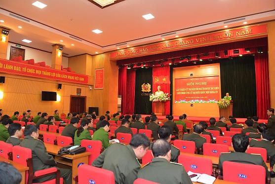 Bộ Công an giới thiệu 4 cán bộ ứng cử đại biểu Quốc hội khóa XV - Ảnh 1.