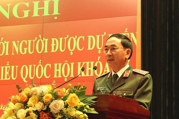 Bộ Công an giới thiệu 4 cán bộ ứng cử đại biểu Quốc hội khóa XV - Ảnh 2.