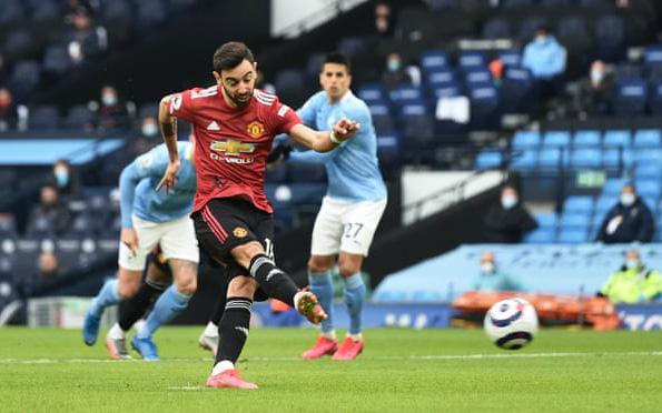 Man Utd ngắt mạch 21 trận thắng của Man City ngay trên Etihad - Ảnh 1.