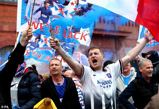 Steven Gerrard đưa Rangers lên ngôi vô địch Scotland - Ảnh 4.
