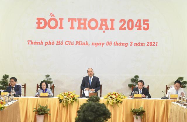 Việt Nam 2045 là bức tranh đẹp mà ai cũng có cơ hội đặt nét vẽ - ảnh 1