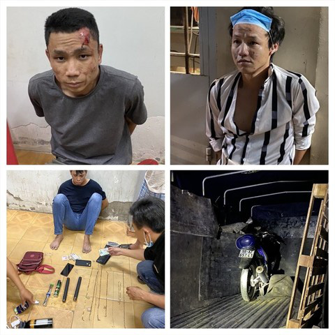 Truy bắt băng cướp giật liên tỉnh táo tợn ở miền Tây - Ảnh 1.