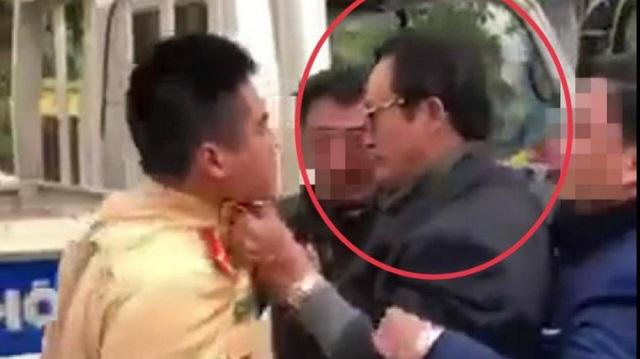 Kỷ luật cảnh cáo Chi cục trưởng túm cổ áo CSGT khi bị kiểm tra nồng độ cồn - Ảnh 1.