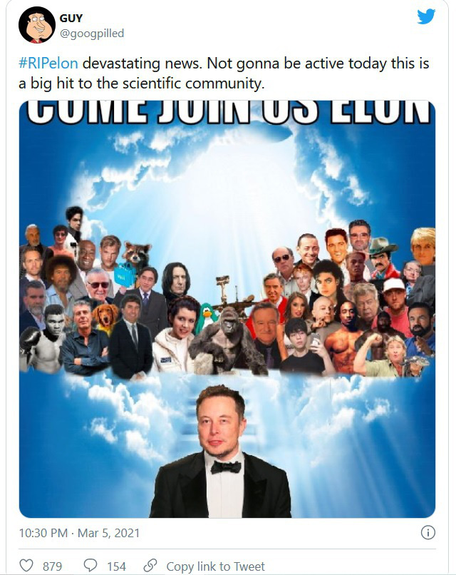 Thông tin Elon Musk qua đời trong một vụ nổ gây hoang mang mạng xã hội - Ảnh 3.