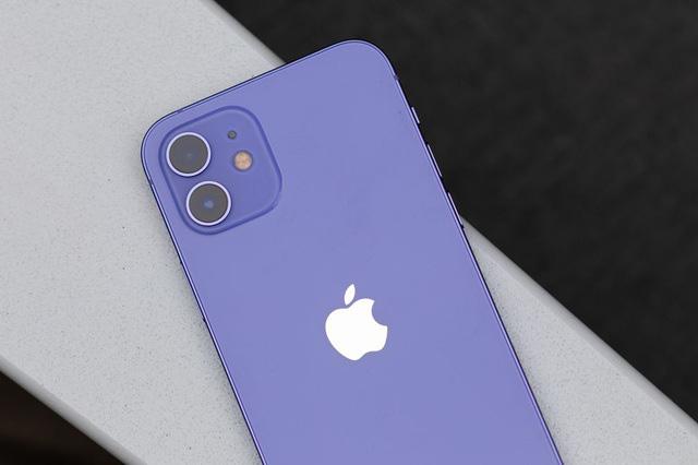 Cận cảnh chiếc iPhone 12 màu tím mà Apple vừa ra mắt - Ảnh 2.