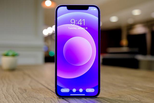 Cận cảnh chiếc iPhone 12 màu tím mà Apple vừa ra mắt - Ảnh 4.