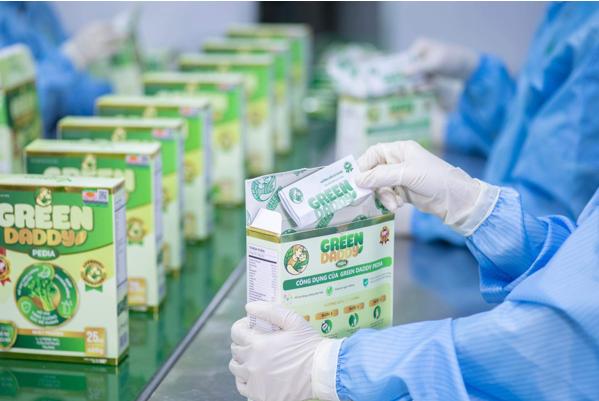 Green Daddy giới thiệu nhà máy sản xuất đạt tiêu chuẩn GMP-WHO - Ảnh 4.