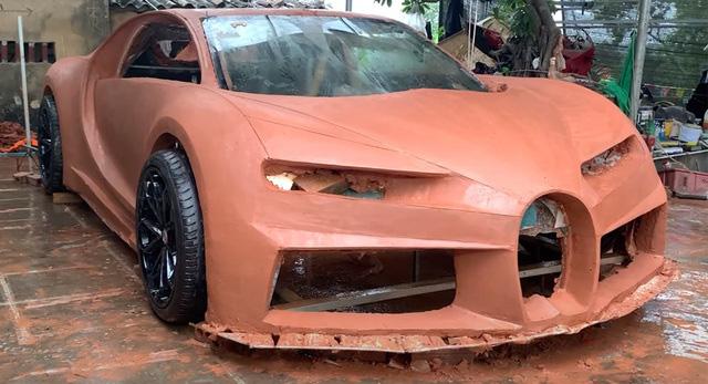 Tới lượt siêu xe Bugatti đất sét của người Việt gây xôn xao báo Tây - ảnh 1