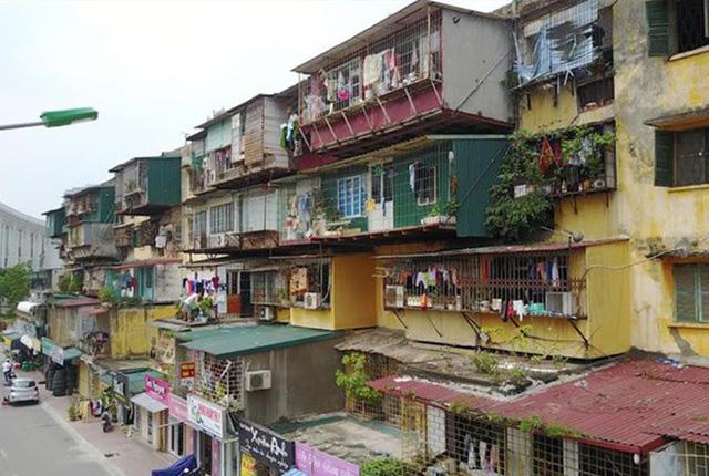 Cải tạo chung cư cũ tại Hà Nội: Điểm mới trong chuyện cũ - Ảnh 1.
