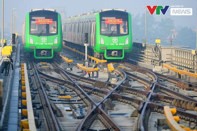 Dự kiến vận hành thương mại đường sắt Cát Linh - Hà Đông vào 30/4 - ảnh 1