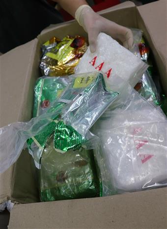 Triệt phá băng nhóm tội phạm mua bán, vận chuyển trái phép gần 60 kg ma túy tổng hợp - Ảnh 5.