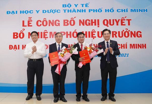 Đề nghị Trường ĐH Y dược TP Hồ Chí Minh thu hồi 2 quyết định bổ nhiệm phó hiệu trưởng - Ảnh 1.