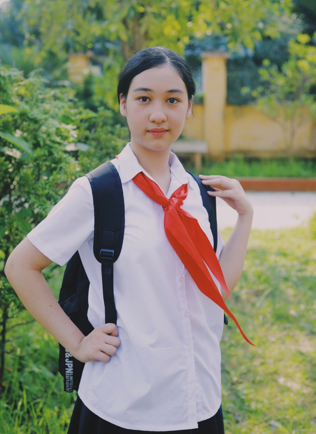 Nữ sinh giành giải Nhất viết thư UPU: Cảm hứng từ tâm dịch COVID-19 - Ảnh 1.