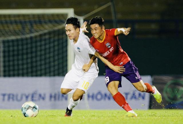 Kết quả Vòng 12 V.League 2021: HAGL 2-2 B.Bình Dương, SHB Đà Nẵng 1-2 Viettel, CLB Hà Nội 3-1 CLB Sài Gòn, CLB TP Hồ Chí Minh 3-0 CLB Hải Phòng - Ảnh 4.