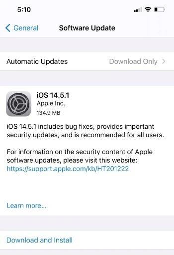 Vì sao người dùng iPhone nên cài ngay bản cập nhật iOS 14.5.1? - ảnh 1