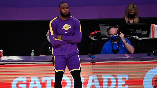 Lebron James chỉ trích thể thức play-in của NBA - Ảnh 1.