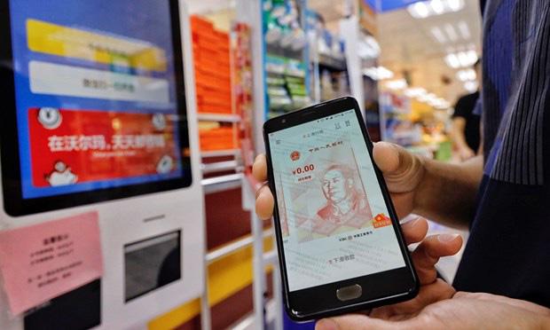 Trung Quốc thử nghiệm đồng Nhân dân tệ kỹ thuật số dịp lễ mua sắm 5/5 - ảnh 2