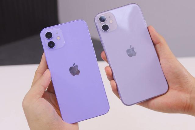 iPhone 12 và 12 Mini màu tím xuất hiện tại Việt Nam - ảnh 1